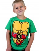 Toddler TMNT Raphael Costume T-Shirt, halloween costume (Toddler TMNT Raphael Costume T-Shirt)