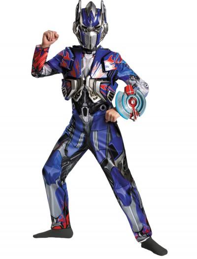 Boys Transformers 4 Optimus Prime Deluxe Costume, halloween costume (Boys Transformers 4 Optimus Prime Deluxe Costume)