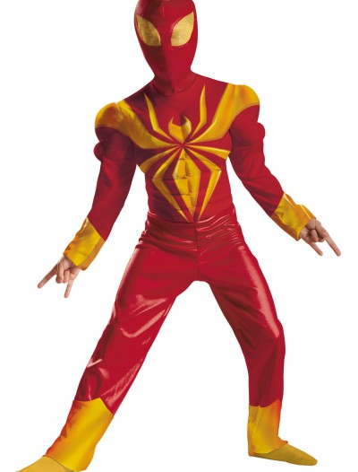 Boys Ultimate Iron Spider-Man Classic Muscle Costume, halloween costume (Boys Ultimate Iron Spider-Man Classic Muscle Costume)