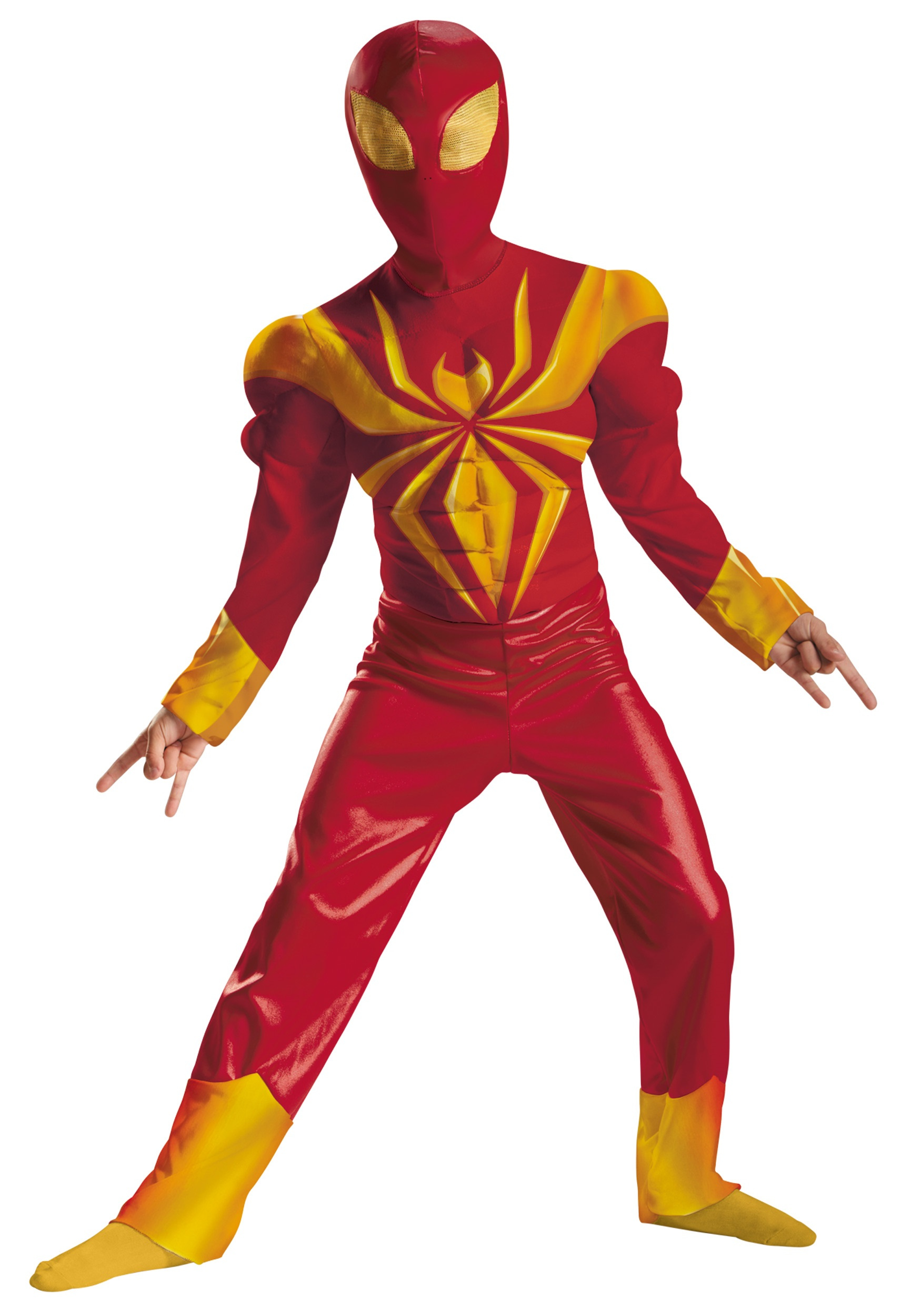Boys Ultimate Iron Spider-Man Classic Muscle Costume  sc 1 st  Halloween Costumes & Boys Ultimate Iron Spider-Man Classic Muscle Costume - Halloween ...