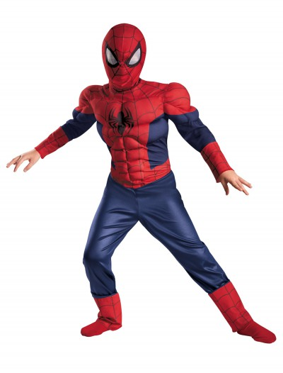 Boys Ultimate Spider-Man Classic Muscle Costume, halloween costume (Boys Ultimate Spider-Man Classic Muscle Costume)