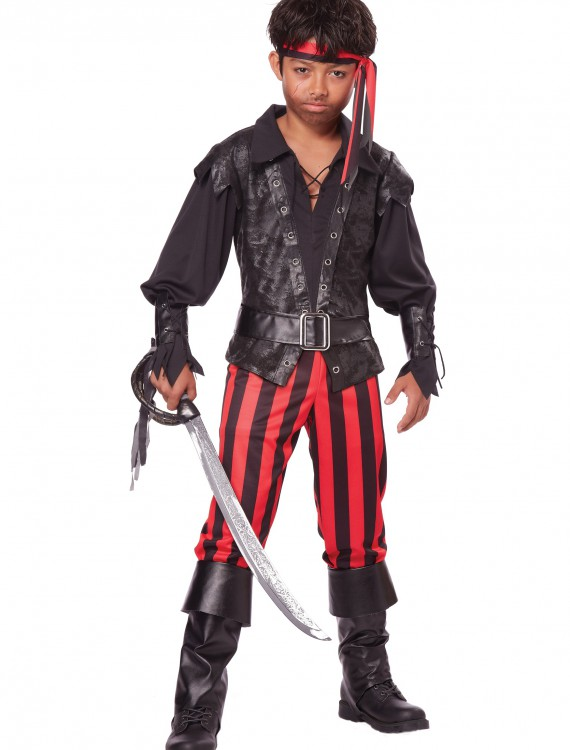 Child Briny Buccaneer Costume, halloween costume (Child Briny Buccaneer Costume)