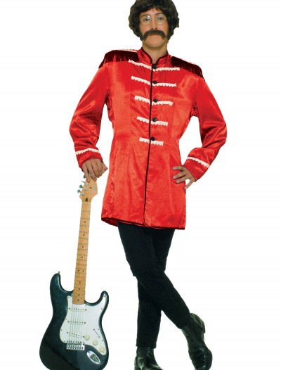British Explosion Red Adult Costume, halloween costume (British Explosion Red Adult Costume)