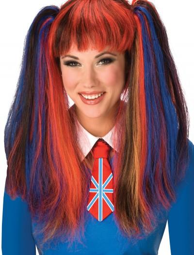 British School Girl Costume Wig, halloween costume (British School Girl Costume Wig)