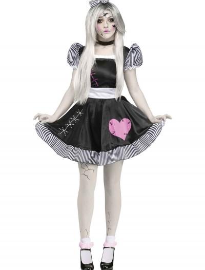 Broken Doll Adult Costume, halloween costume (Broken Doll Adult Costume)