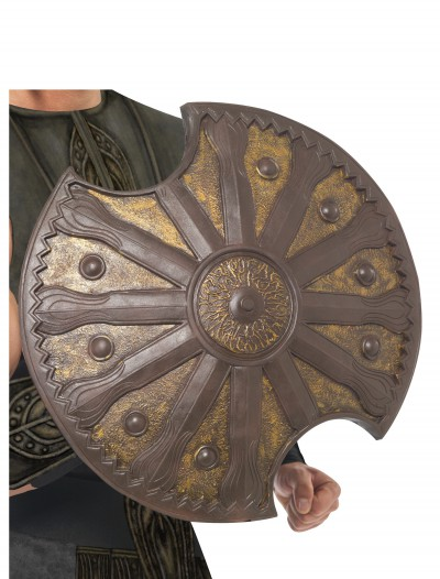 Bronze Achilles Shield, halloween costume (Bronze Achilles Shield)