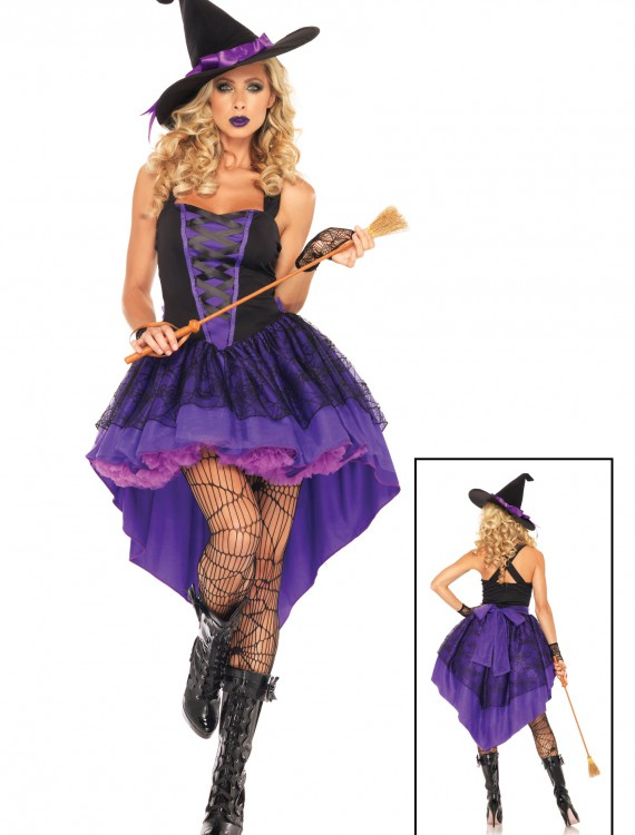 Broomstick Babe Witch Costume, halloween costume (Broomstick Babe Witch Costume)