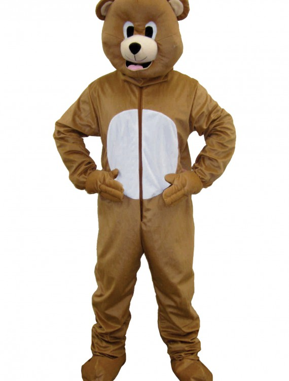 Brown Bear Mascot Costume, halloween costume (Brown Bear Mascot Costume)