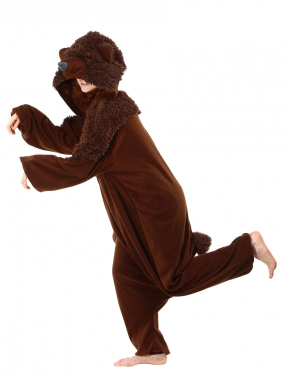 Brown Bear Pajama Costume, halloween costume (Brown Bear Pajama Costume)