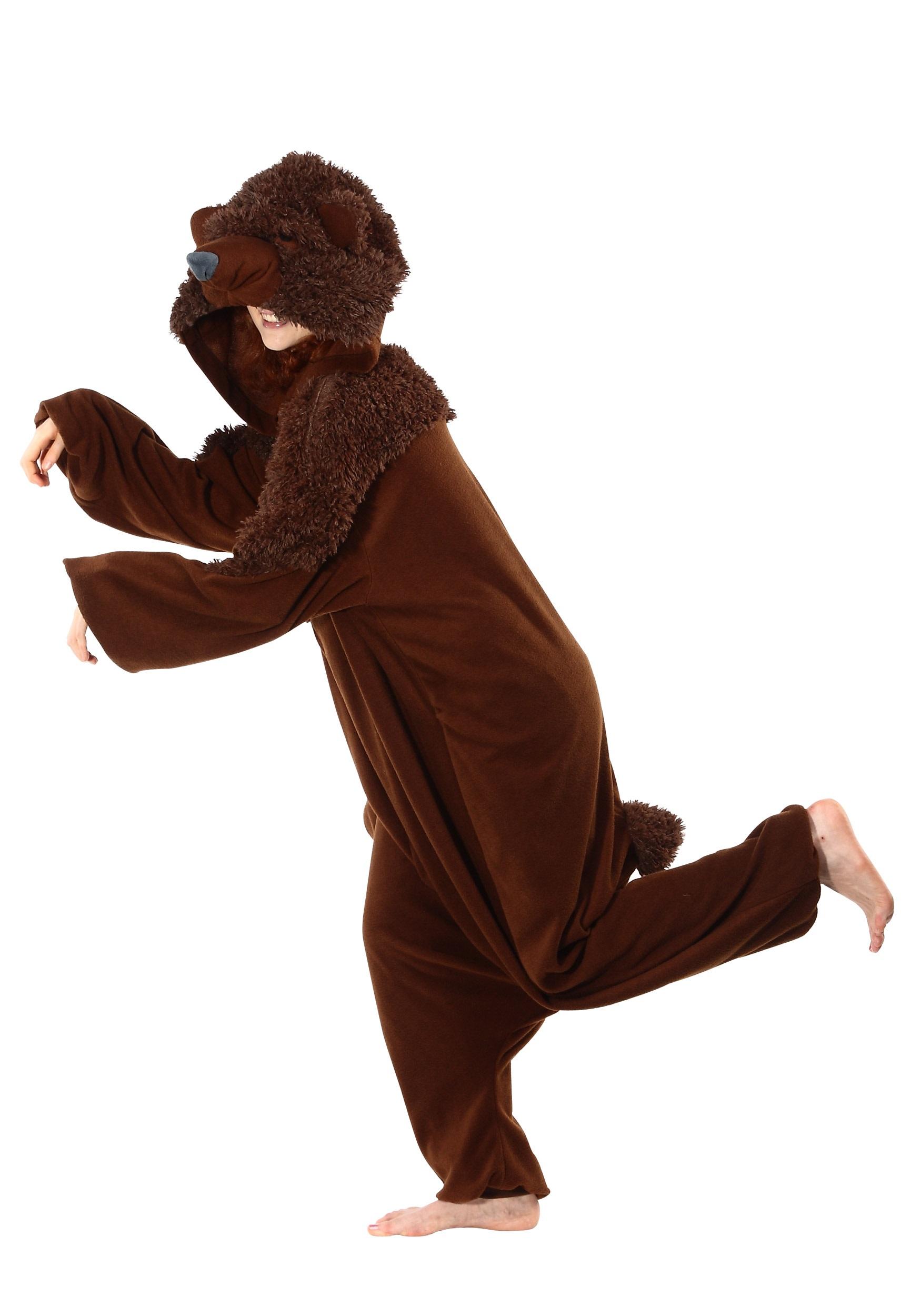 brown bear pajama costume - halloween costumes