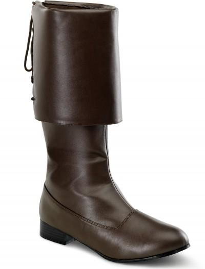 Brown Buccaneer Boots, halloween costume (Brown Buccaneer Boots)