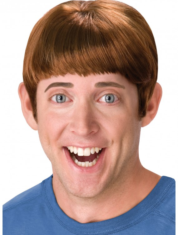 Brown Lloyd Wig, halloween costume (Brown Lloyd Wig)