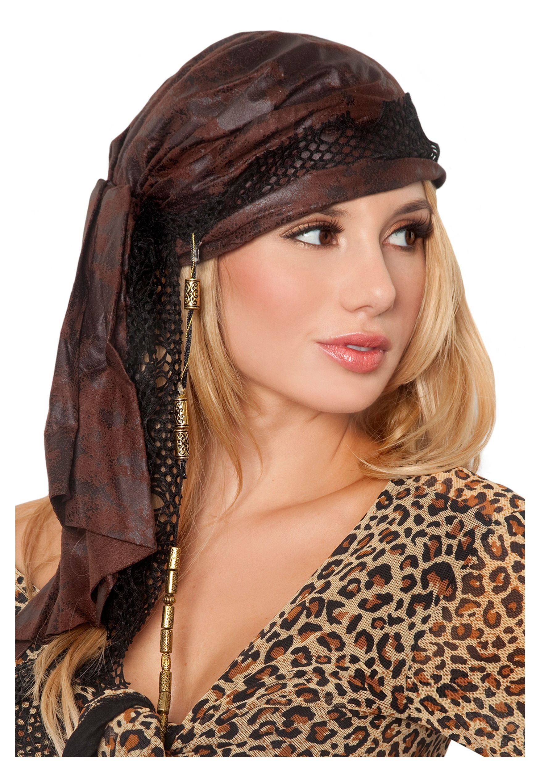 brown pirate bandana halloween costumes