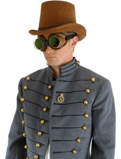 Brown Suede Coachman Hat, halloween costume (Brown Suede Coachman Hat)