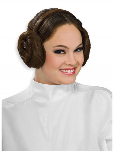 Bun Headpiece Princess Leia, halloween costume (Bun Headpiece Princess Leia)
