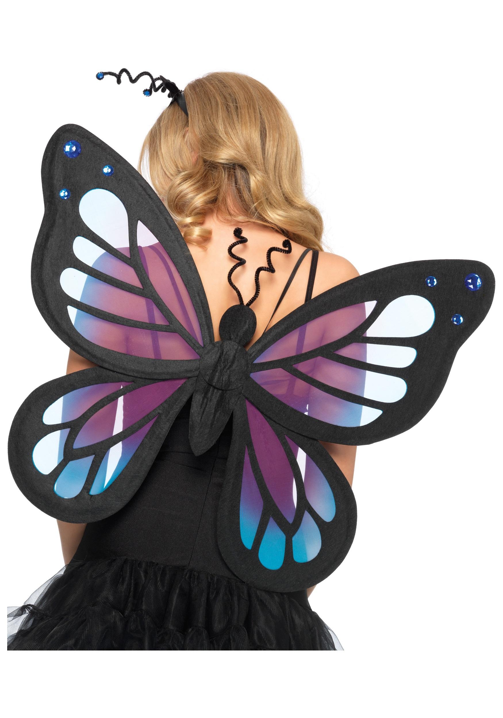 Крылья бабочки для костюма бабочки своими руками