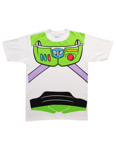Buzz Lightyear Costume T-Shirt, halloween costume (Buzz Lightyear Costume T-Shirt)