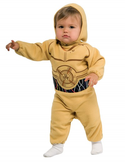 C3PO Toddler Costume, halloween costume (C3PO Toddler Costume)