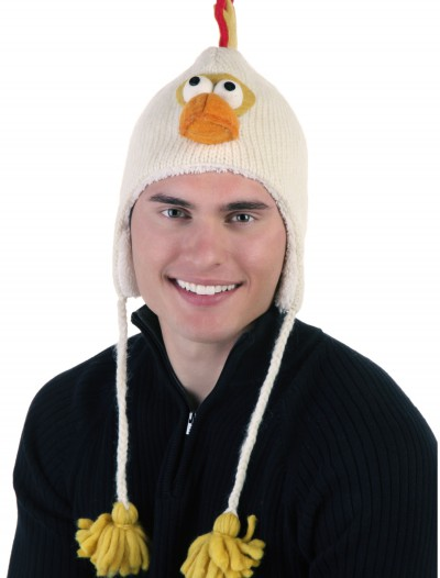 Adult Caleb the Chicken Hat, halloween costume (Adult Caleb the Chicken Hat)