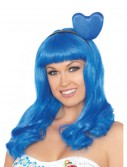 California Blue Candy Girl Adult Wig, halloween costume (California Blue Candy Girl Adult Wig)