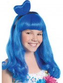 California Blue Candy Girl Child Wig, halloween costume (California Blue Candy Girl Child Wig)