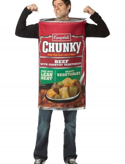 Campbells Chunk Beef Soup Costume, halloween costume (Campbells Chunk Beef Soup Costume)