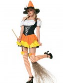 Candy Corn Witch Costume, halloween costume (Candy Corn Witch Costume)