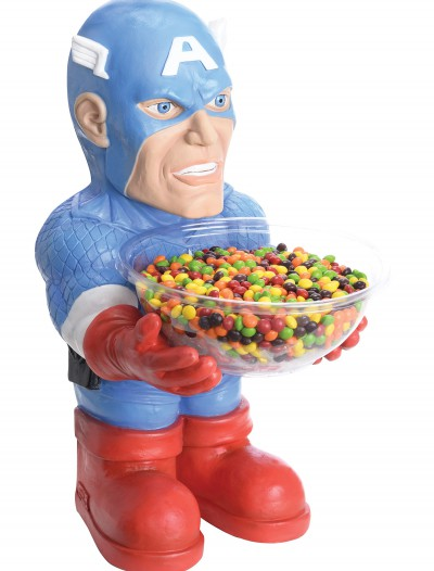 Captain America Candy Bowl Holder, halloween costume (Captain America Candy Bowl Holder)
