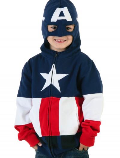 Captain America Hoodie Juvy, halloween costume (Captain America Hoodie Juvy)