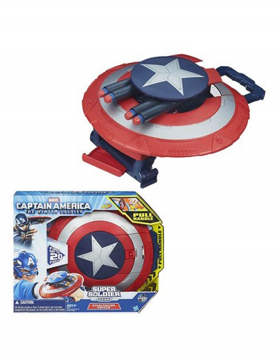 Captain America Super Soldier Dart Shield, halloween costume (Captain America Super Soldier Dart Shield)