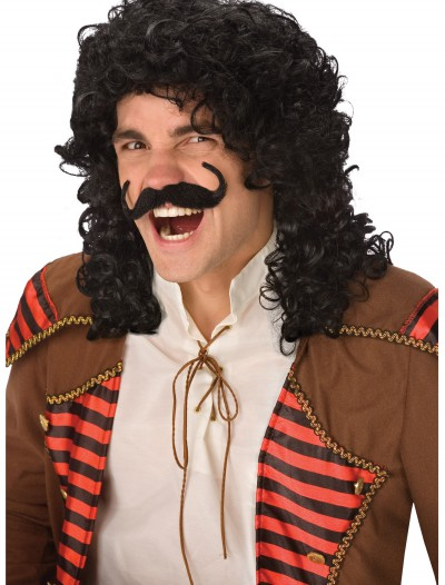 Captain Hook Costume Wig, halloween costume (Captain Hook Costume Wig)