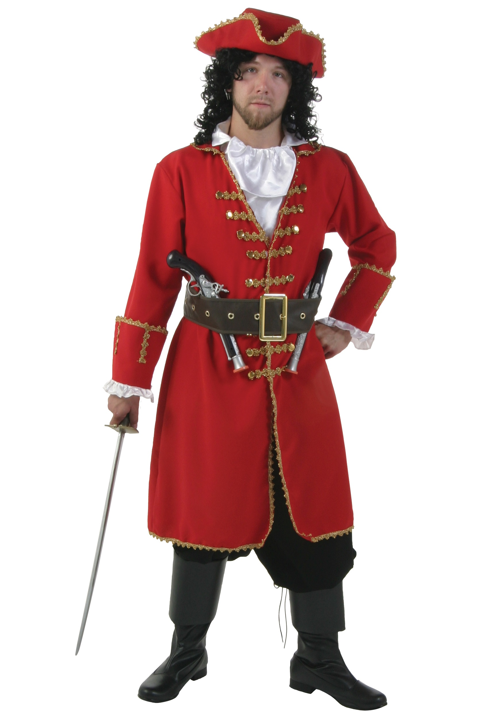 979c318cb Captain Blackheart Pirate Costume