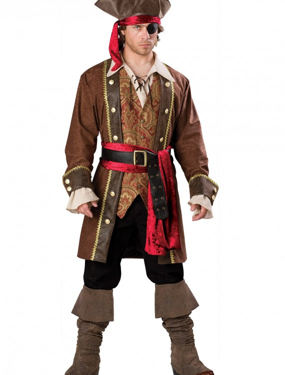 Captain Skullduggery Pirate Costume, halloween costume (Captain Skullduggery Pirate Costume)