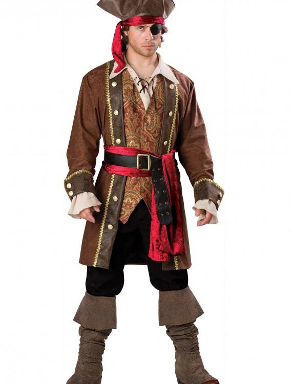 Captain Skullduggery Pirate Costume, halloween costume (Captain Skullduggery Pirate Costume)