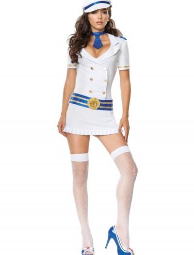 Captivating Captain Sailor Costume, halloween costume (Captivating Captain Sailor Costume)