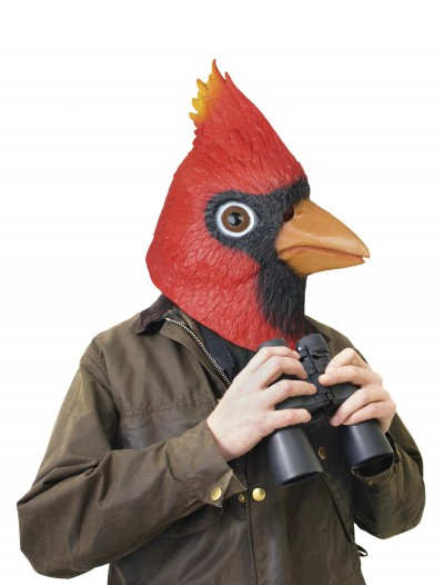 Cardinal Mask, halloween costume (Cardinal Mask)