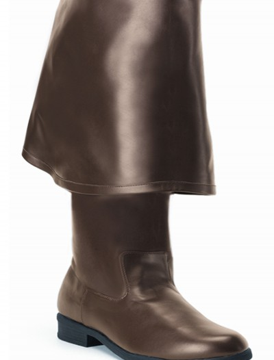 Caribbean Brown Pirate Boots, halloween costume (Caribbean Brown Pirate Boots)