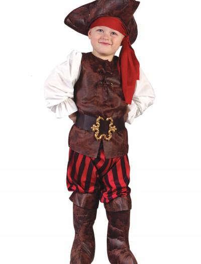 Caribbean Pirate Toddler Costume, halloween costume (Caribbean Pirate Toddler Costume)