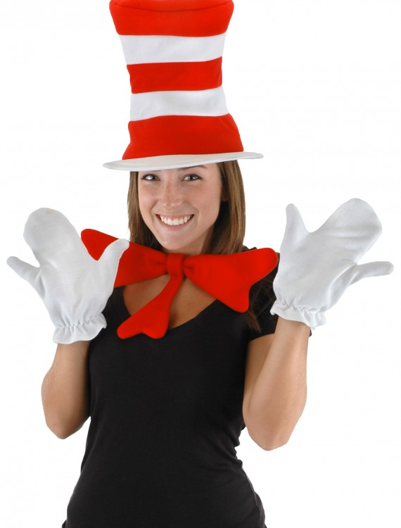 Adult Cat in the Hat Accessory Kit, halloween costume (Adult Cat in the Hat Accessory Kit)