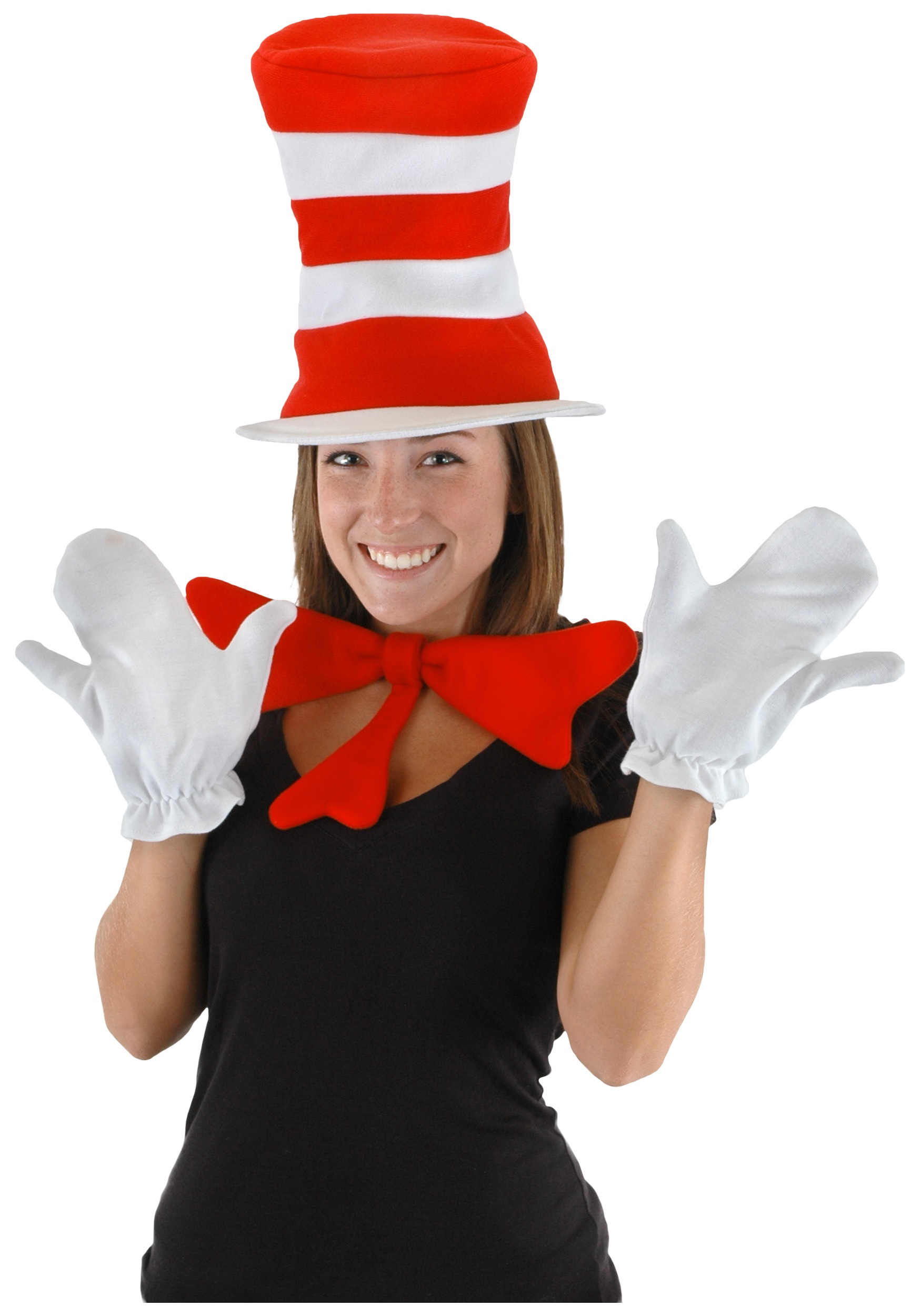 adult cat in the hat accessory kit - halloween costumes