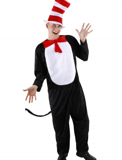 Cat in the Hat Adult Costume, halloween costume (Cat in the Hat Adult Costume)