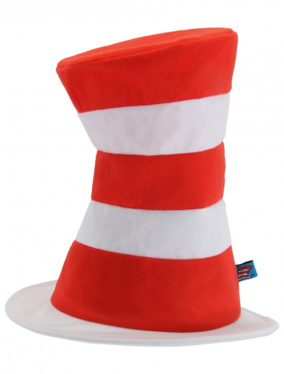 Cat in the Hat Adult Hat, halloween costume (Cat in the Hat Adult Hat)