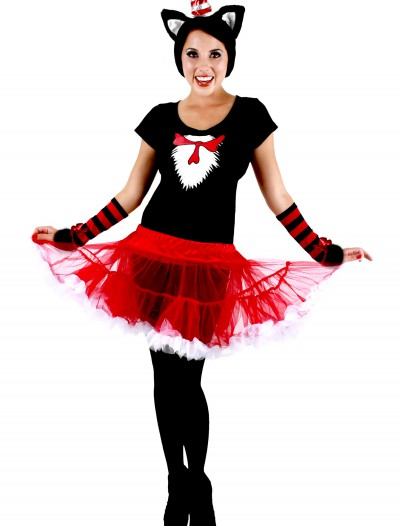 Cat in the Hat Adult Tutu Costume, halloween costume (Cat in the Hat Adult Tutu Costume)