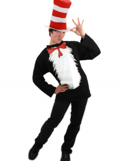 Cat in the Hat T-Shirt Costume, halloween costume (Cat in the Hat T-Shirt Costume)
