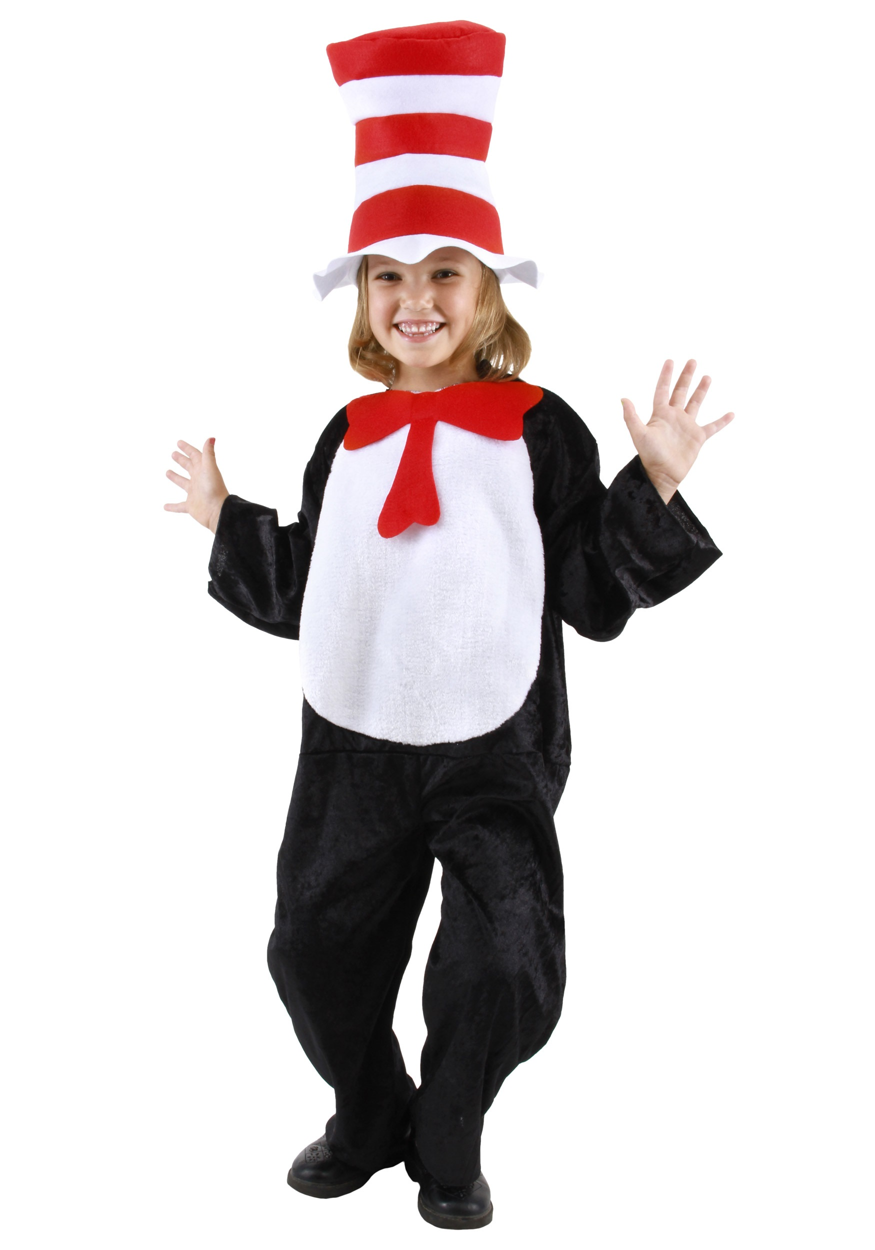 cat in the hat toddler costume - halloween costumes