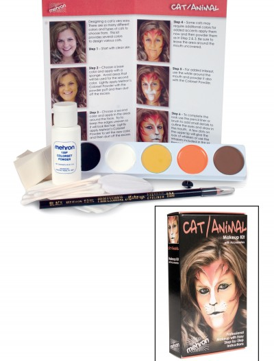 Cat Makeup Kit, halloween costume (Cat Makeup Kit)