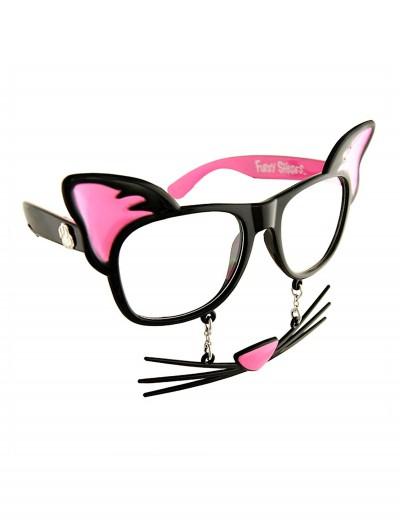 Cat 'Stache Glasses, halloween costume (Cat 'Stache Glasses)