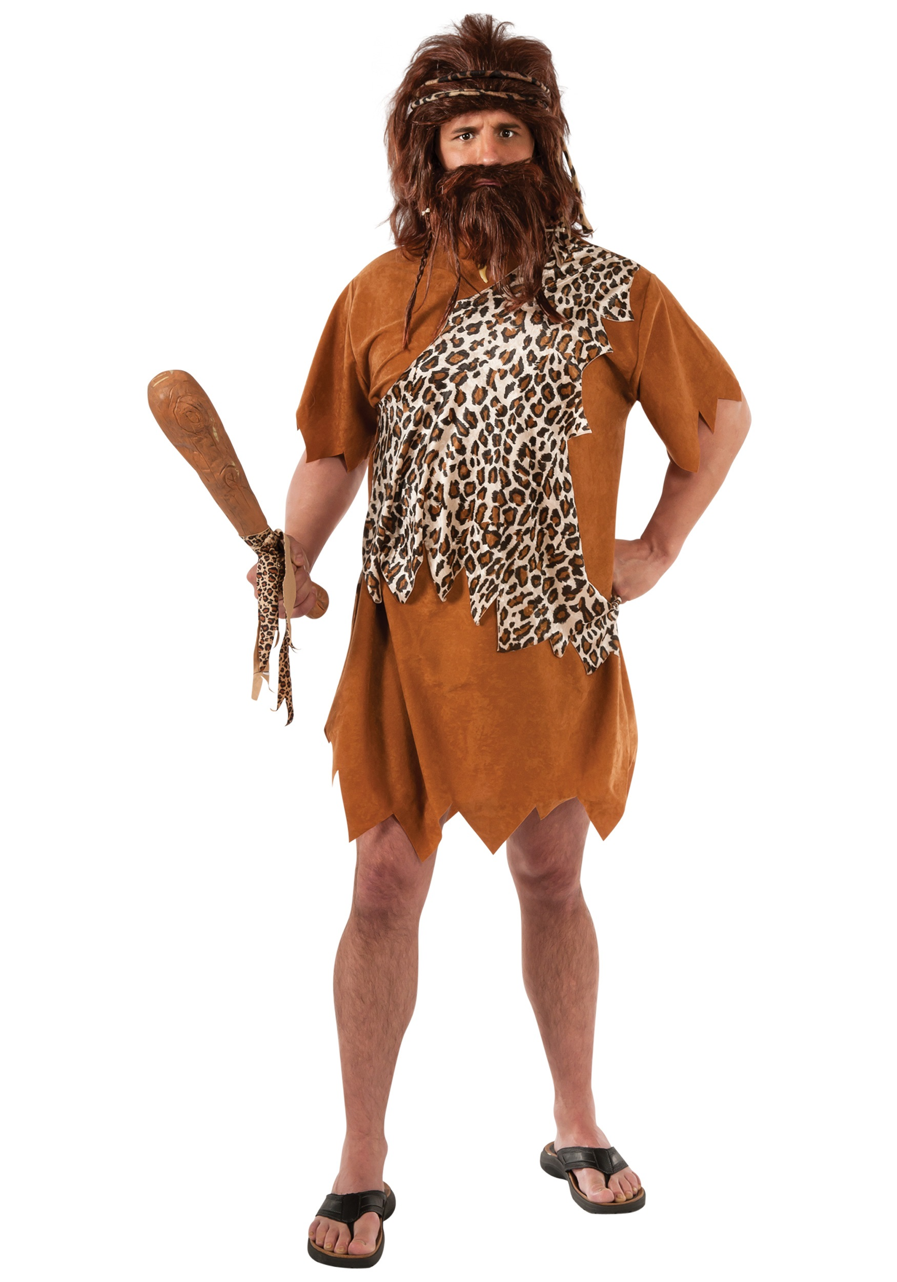 Caveman Plus Size Costume  sc 1 st  Halloween Costumes : stone age costume ideas  - Germanpascual.Com