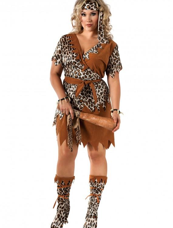 Cavewoman Plus Size Costume, halloween costume (Cavewoman Plus Size Costume)