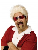 Celebrity Chef Wig and Goatee Set, halloween costume (Celebrity Chef Wig and Goatee Set)